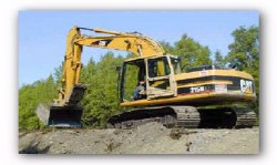 Pence Land Materials, Inc. operates a large fleet of dump trucks delivering fill dirt, topsoil, sand, and rock to job sites throughout Brevard County, Florida
